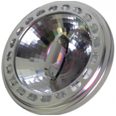 15W LED lemputė V-TAC AR111, 12V Sharp LED, (3000K) šiltai balta