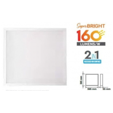 25W LED panelė BACKLIGHT, 595 x 595mm, 6400K (šaltai balta)