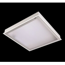 28W įleidžiama LED panelė AGAT CLEAN 596x296mm, 4000K, IP65, balta