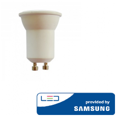 2W LED lemputė V-TAC, GU10, MR11, 6400K(šaltai balta), SAMSUNG LED chip