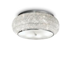 Ceiling lamp with 10 lights PASHA', E14, gold color